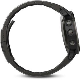 Garmin fenix 5 GPS Multi Sporthorloge met zwarte armband, saphir